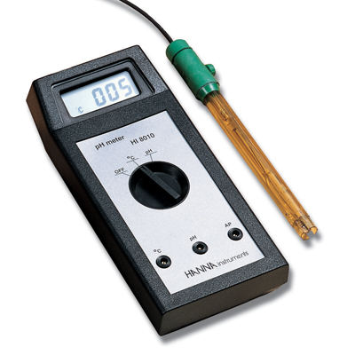 hi8010 portable ph meter for education hanna instruments hi 8010. Black Bedroom Furniture Sets. Home Design Ideas