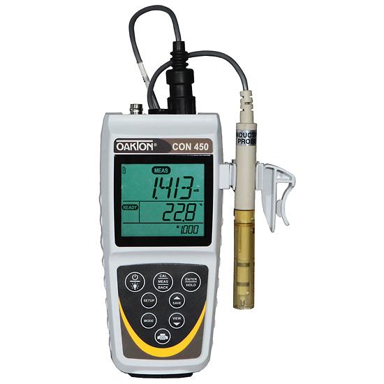 Oakton Conductivity Meter : Wd waterproof con meter kit oakton