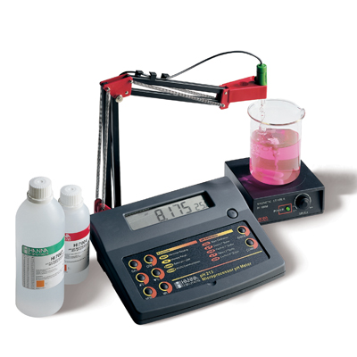 ph212 bench ph meters with ph resolution and pc connection hanna instruments ph 212. Black Bedroom Furniture Sets. Home Design Ideas