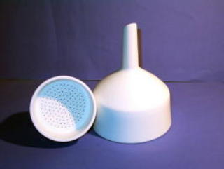 F3271 Buchner Funnel #2A 90mm for 9cm Filter Paper 82-374 Coors 60244