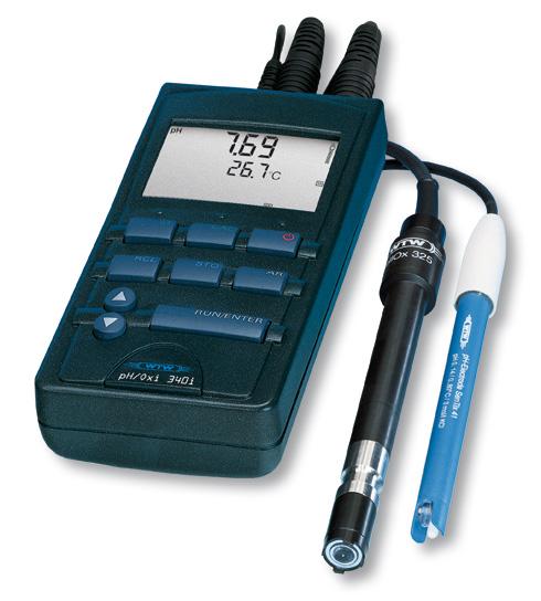 2D30100 pH/Oxi 340i Portable Multi-Parameter WTW 2D30100