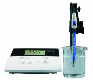 Schott SI Analytics pH Meter Lab 860 BNC Meter with Stand