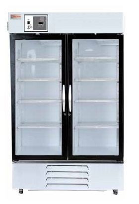 Thermo Fisher - Thermo Scientific MH49PA-GAEE-TS and MH49PA-GARE-TS Chromatography Double Glass Door Refrigerator