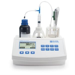 Hanna Instruments Mini Titrator for Measuring Titratable Acidity in Water HI84530-01